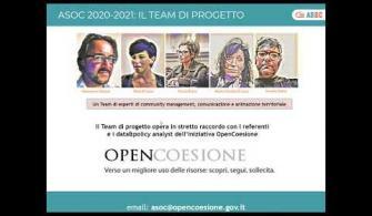Introduzione all'edizione 2020-2021 di A Scuola di OpenCoesione