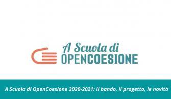 A Scuola di OpenCoesione 2020-2021: il bando, il progetto, le novità